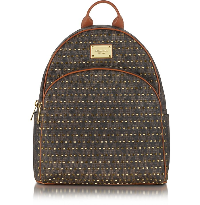 Large Jet Set Studded Backpack - Michael Kors