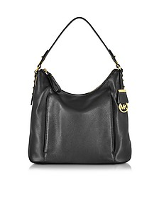 Bowery Genuine Leather Large Shoulder Bag - Michael Kors
