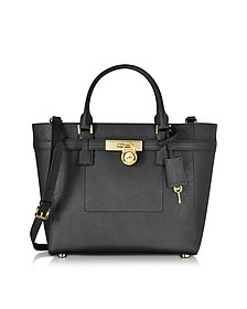 Hamilton Saffiano Leather Large Top Zip Tote Bag - Michael Kors
