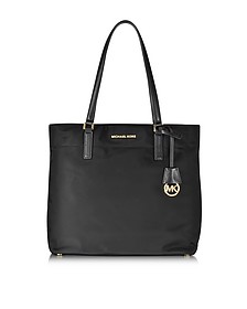 Morgan Large Black Nylon Tote Bag - Michael Kors