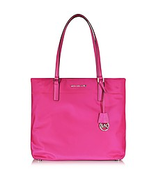 Morgan Large Raspberry Nylon Tote Bag - Michael Kors