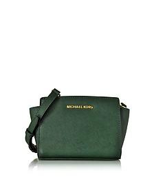 Saffiano Leather Selma Mini Messenger - Michael Kors