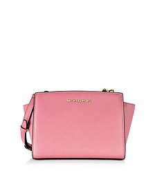 Selma Saffiano Leather Medium Messenger - Michael Kors