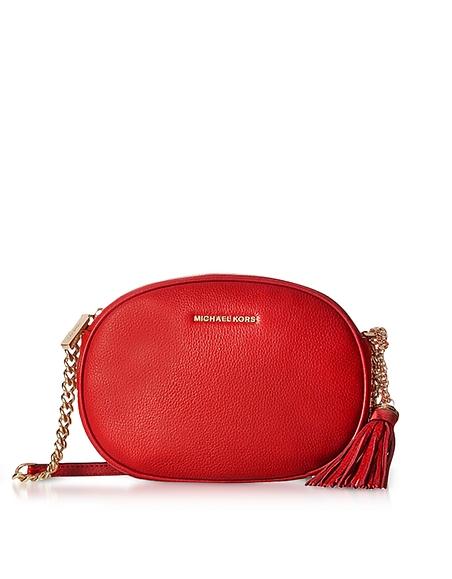 Michael Kors Lydia Acorn Pebbled Leather Hobo Bag at FORZIERI