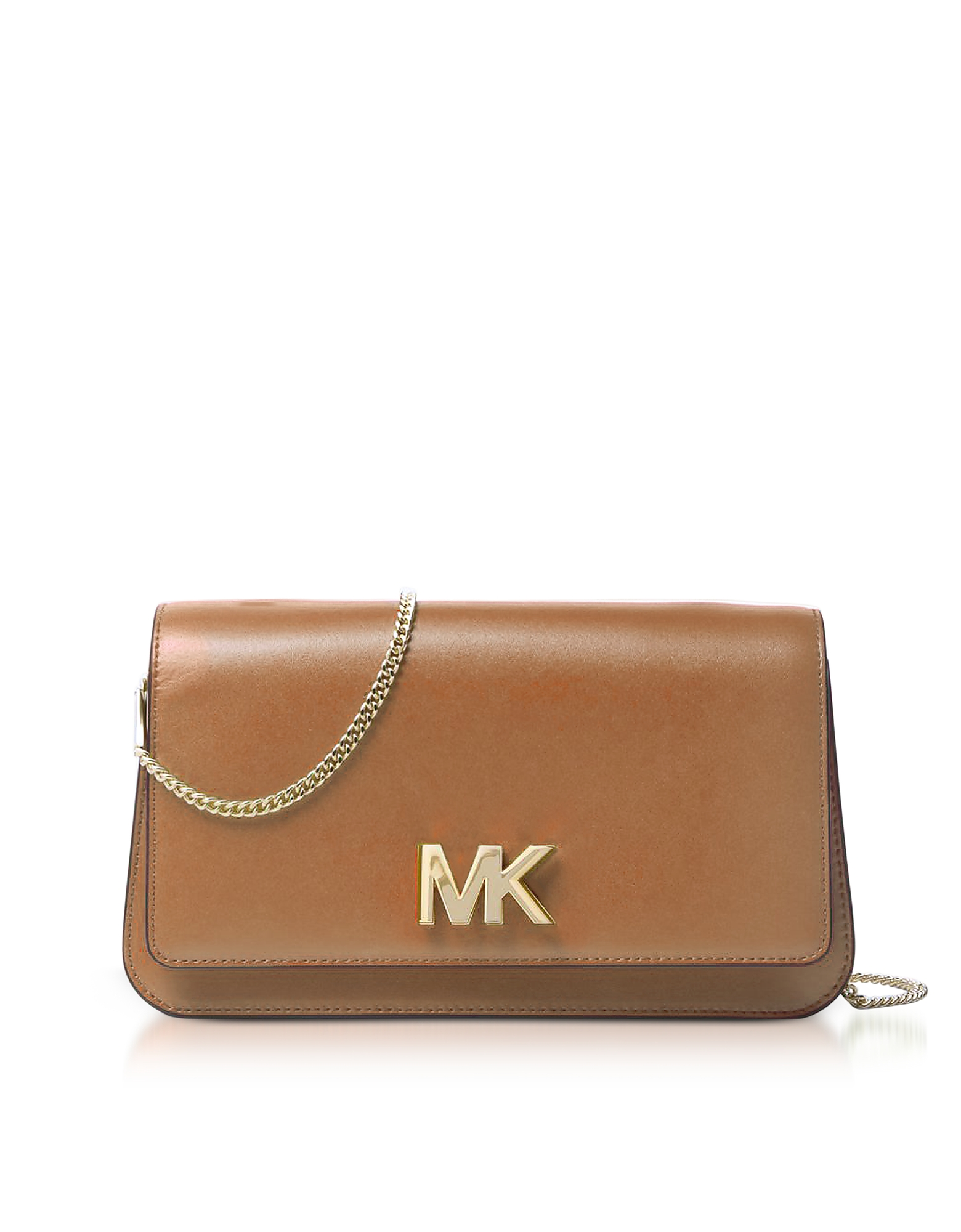 Michael Kors Handbags, Mott Large Acorn Leather Clutch