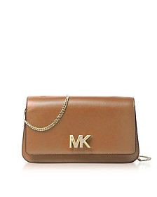 Mott Large Acorn Leather Clutch - Michael Kors