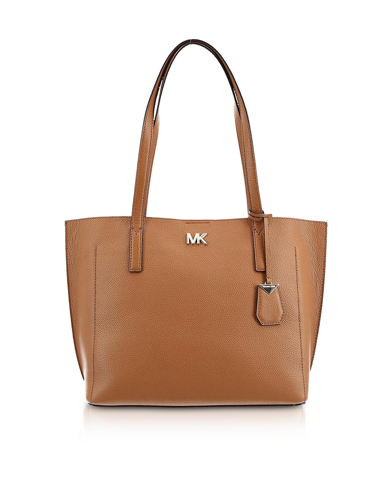 Michael Kors Handbags, Pebbled Leather Ana Medium EW Bonded Tote Bag