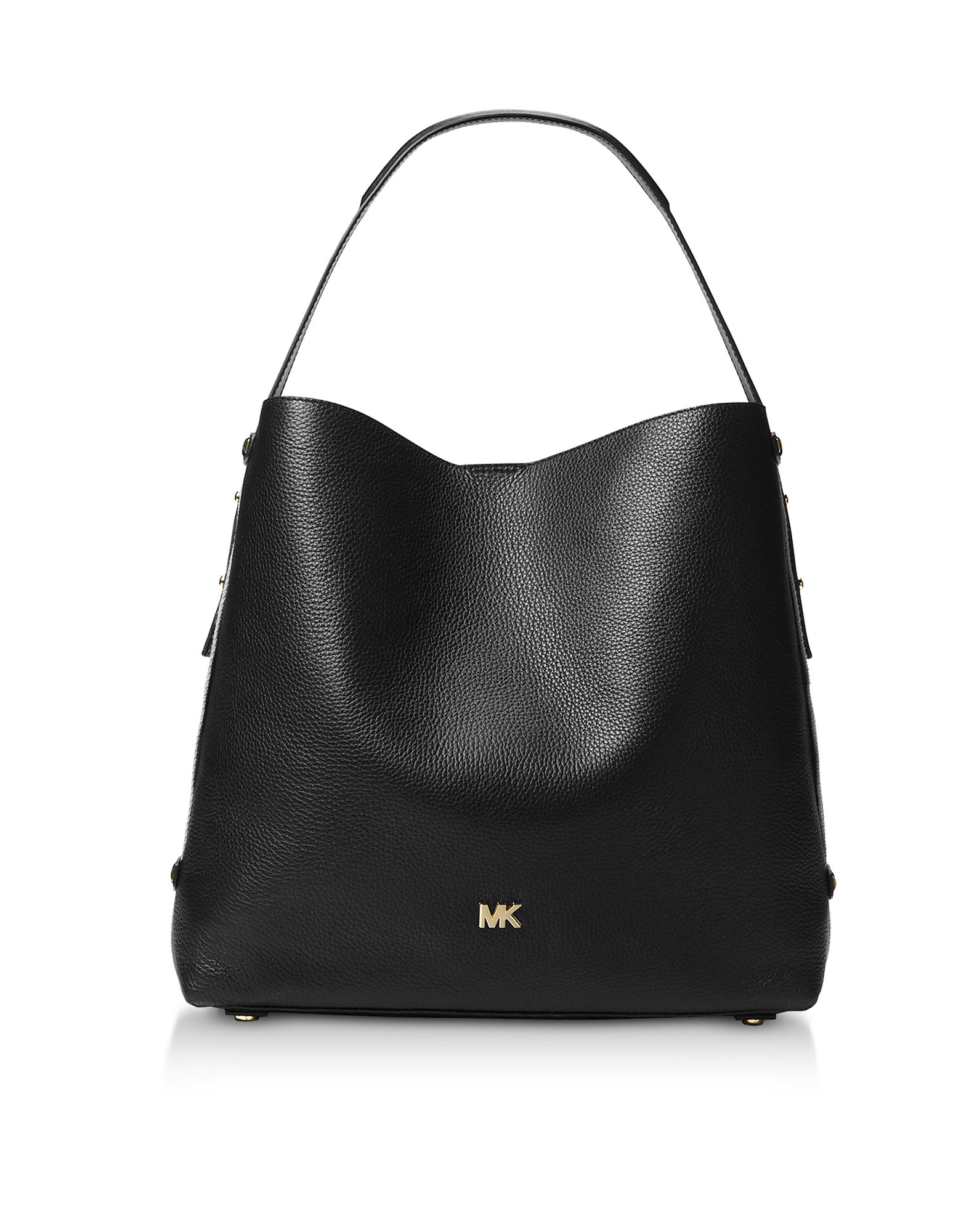 Michael Kors Handbags, Griffin Large Leather Shoulder Bag