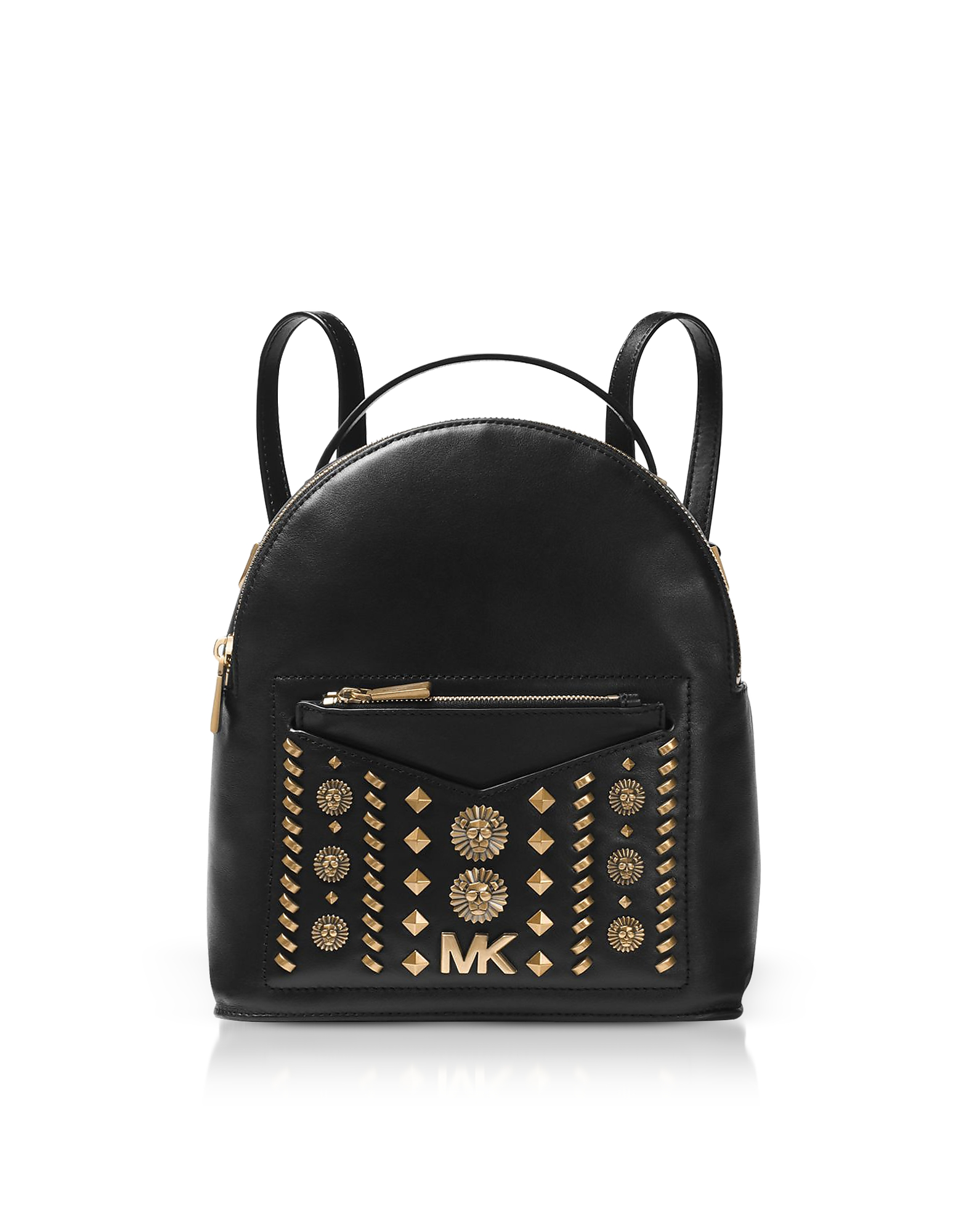 3fdf229c565a MICHAEL KORS JESSA SMALL EMBELLISHED LEATHER CONVERTIBLE BACKPACK ...
