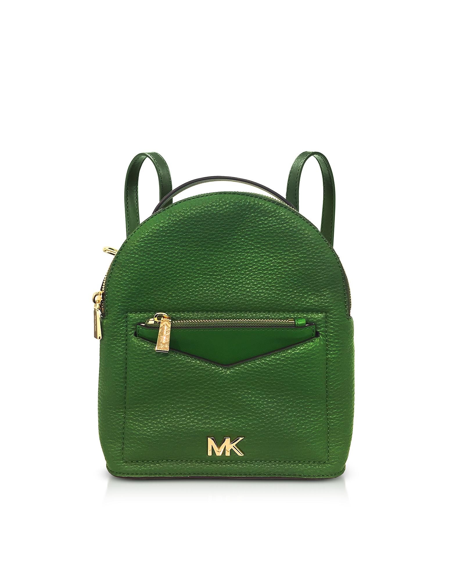 Michael Kors Handbags, Jessa Small Pebbled Leather Convertible Backpack