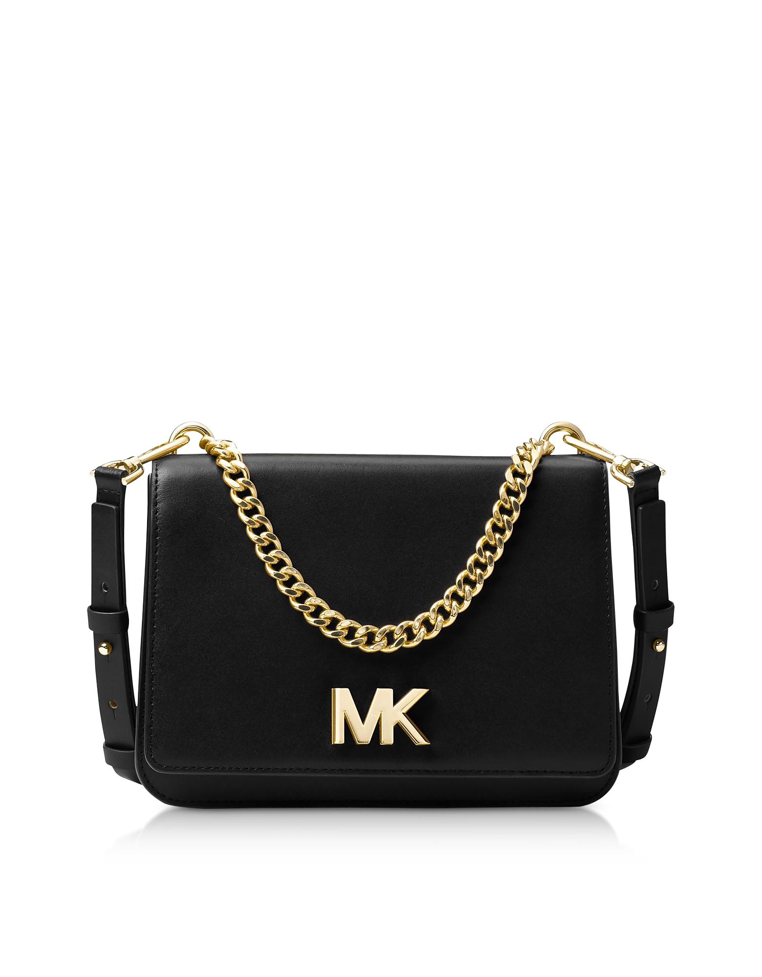 Michael Kors Handbags, Mott Leather Crossbody Bag