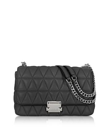 Sloan Large Quilted-Leather Shoulder Bag ik130318-043-00