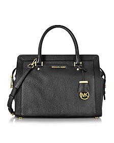Collins Large Leather Satchel Bag - Michael Kors