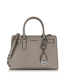 Dillon Cinder Saffiano Leather E/W Satchel - Michael Kors
