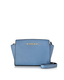 Selma Saffiano Leather Mini Messenger Bag - Michael Kors