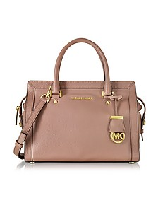 Collins Medium Leather Satchel Bag - Michael Kors