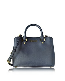 Savannah Medium Saffiano Satchel Bag - Michael Kors