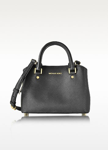 Savannah Small Saffiano Satchel Bag - Michael Kors