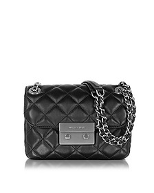 Sloan Small Quilted-Leather w/Brushed Nickel Chain Shoulder Bag - Michael Kors