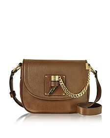 James Medium Leather Saddlebag - Michael Kors