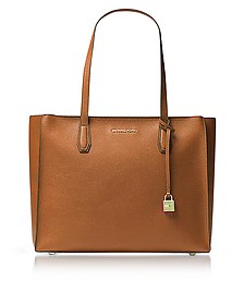 Mercer Large Acorn Pebble Leather Top Zip Tote Bag - Michael Kors