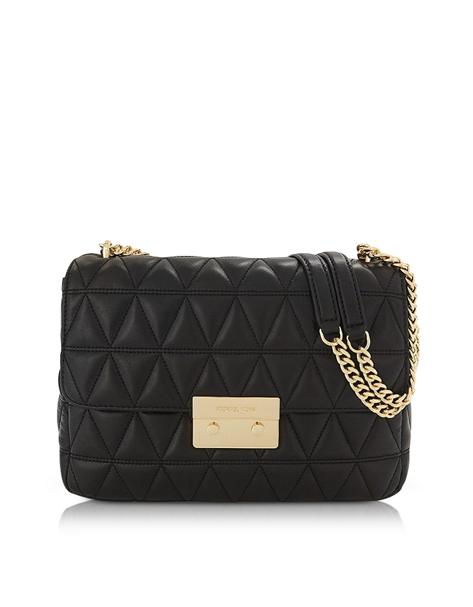 Michael Kors Handbags, Sloan Extra Large Black Quilted Leather Shoulder Bag