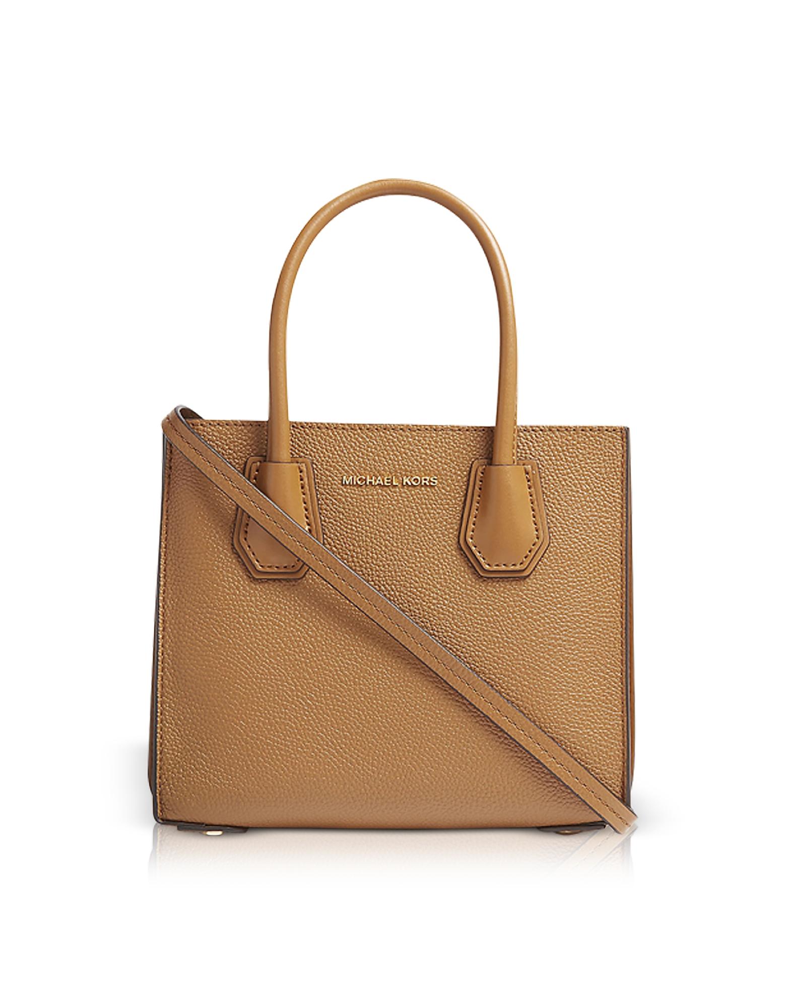 Michael Kors Handbags, Mercer Pebbled Leather Accordion Crossbody