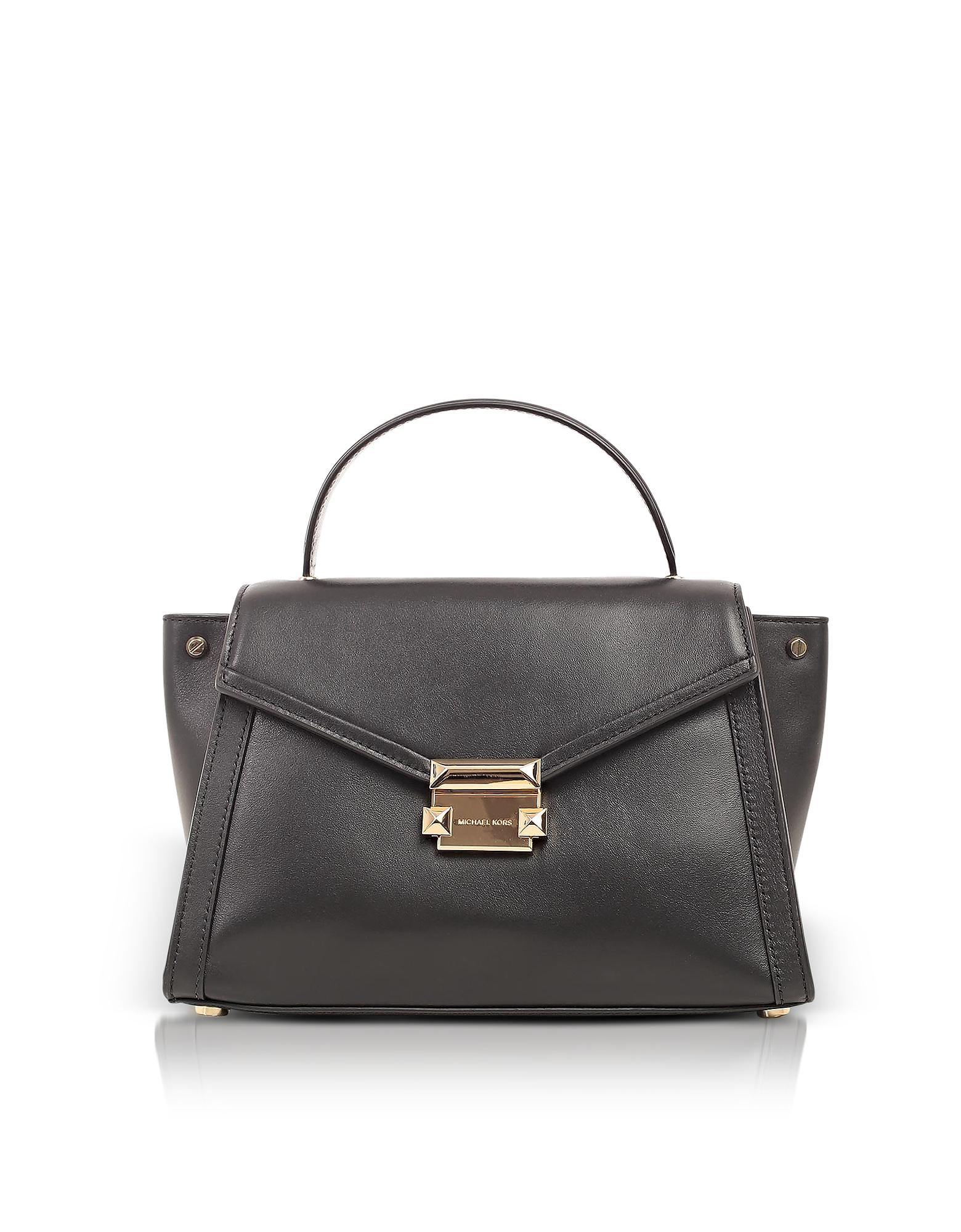 Whitney Medium Leather Satchel