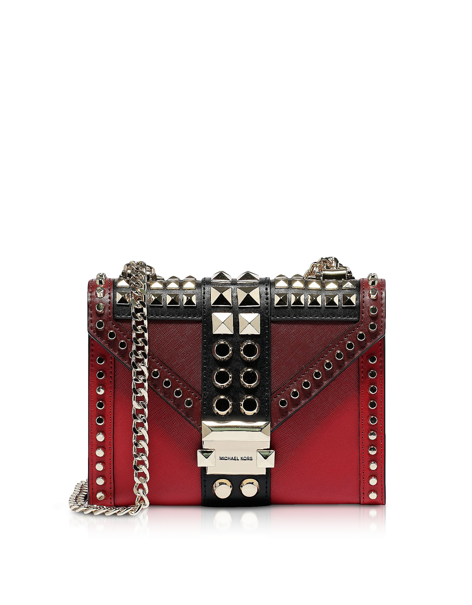 Bright Red Small Whitney Shoulder Bag