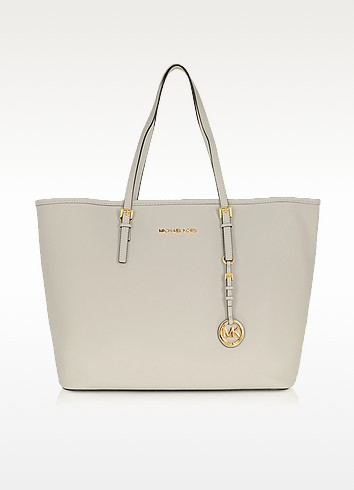 Jet Set Travel Saffiano Leather Tote - Michael Kors