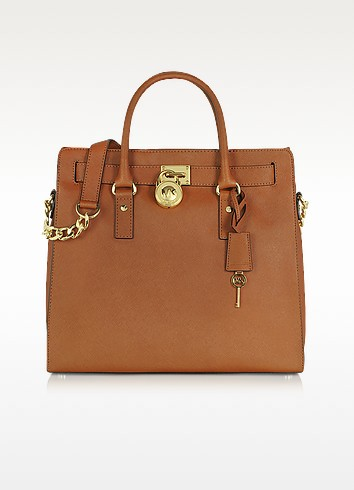 Hamilton Saffiano Leather Tote - Michael Kors