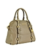 Bedford Genuine Leather Bowling Satchel Bag - Michael Kors