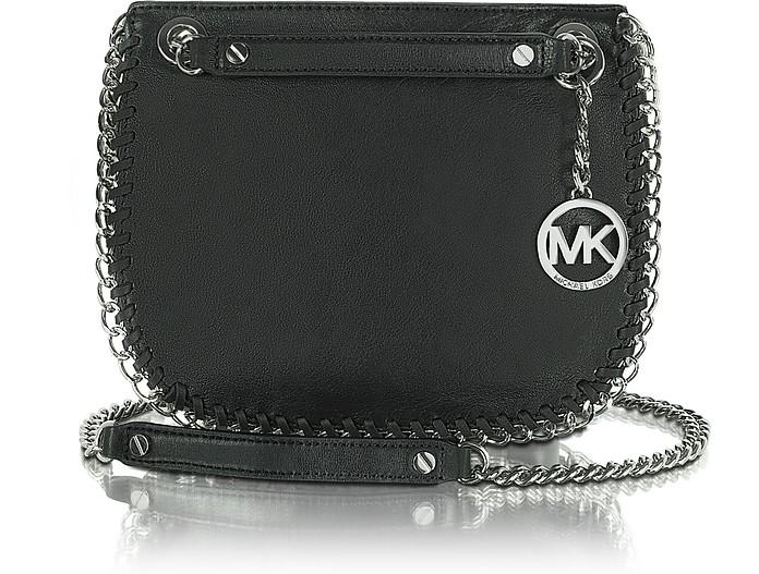 Michael - Chelsea Small Leather Messenger Bag - Michael Kors