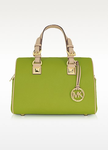 Grayson Chain Saffiano Leather Satchel - Michael Kors