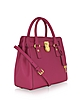 Hamilton Medium Saffiano Leather North/Shouth Satchel Tote - Michael Kors