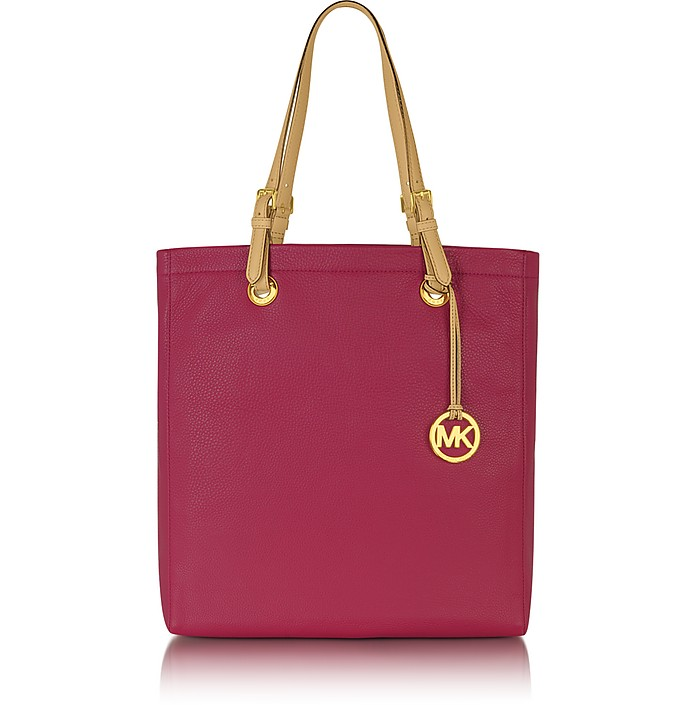 Jet Set Item Leather North/South Tote - Michael Kors