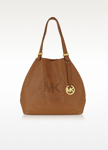 Perforated-Logo Grab Bag - Michael Kors