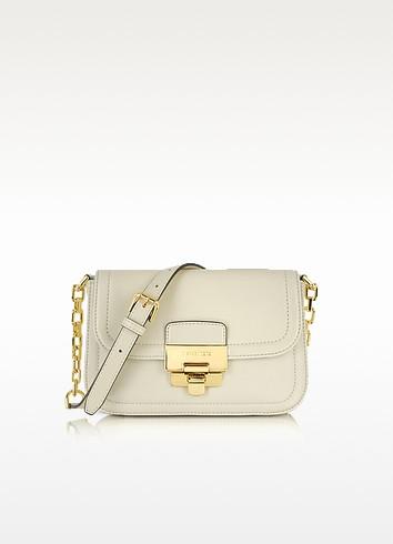 Deneuve - Vanilla Leather Shoulder Bag - Michael Kors
