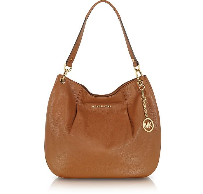 Bedford Luggage Leather Shoulder Bag - Michael Kors