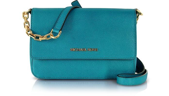 Selma Saffiano Leather Flap Crossbody Bag - Michael Kors
