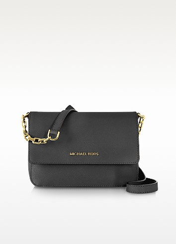 Selma Saffiano Leather Flap Crossbody Bag - Michael Kors