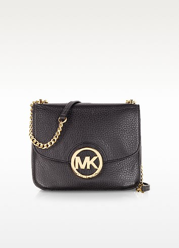 Fulton Mini Pebbled Leather Shoulder Bag - Michael Kors
