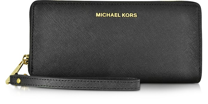 Jet Set Travel Large Continental Wristlet Leather Wallet - Michael Kors / マイケル コース