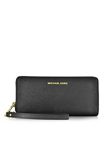 Jet Set Travel Large Continental Wristlet Leather Wallet - Michael Kors