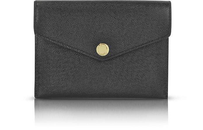 Saffiano Leather Passport Holder - Michael Kors