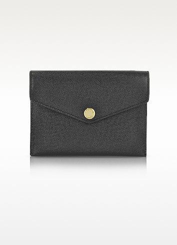 Saffiano Leather Passport Holder - Michael Kors