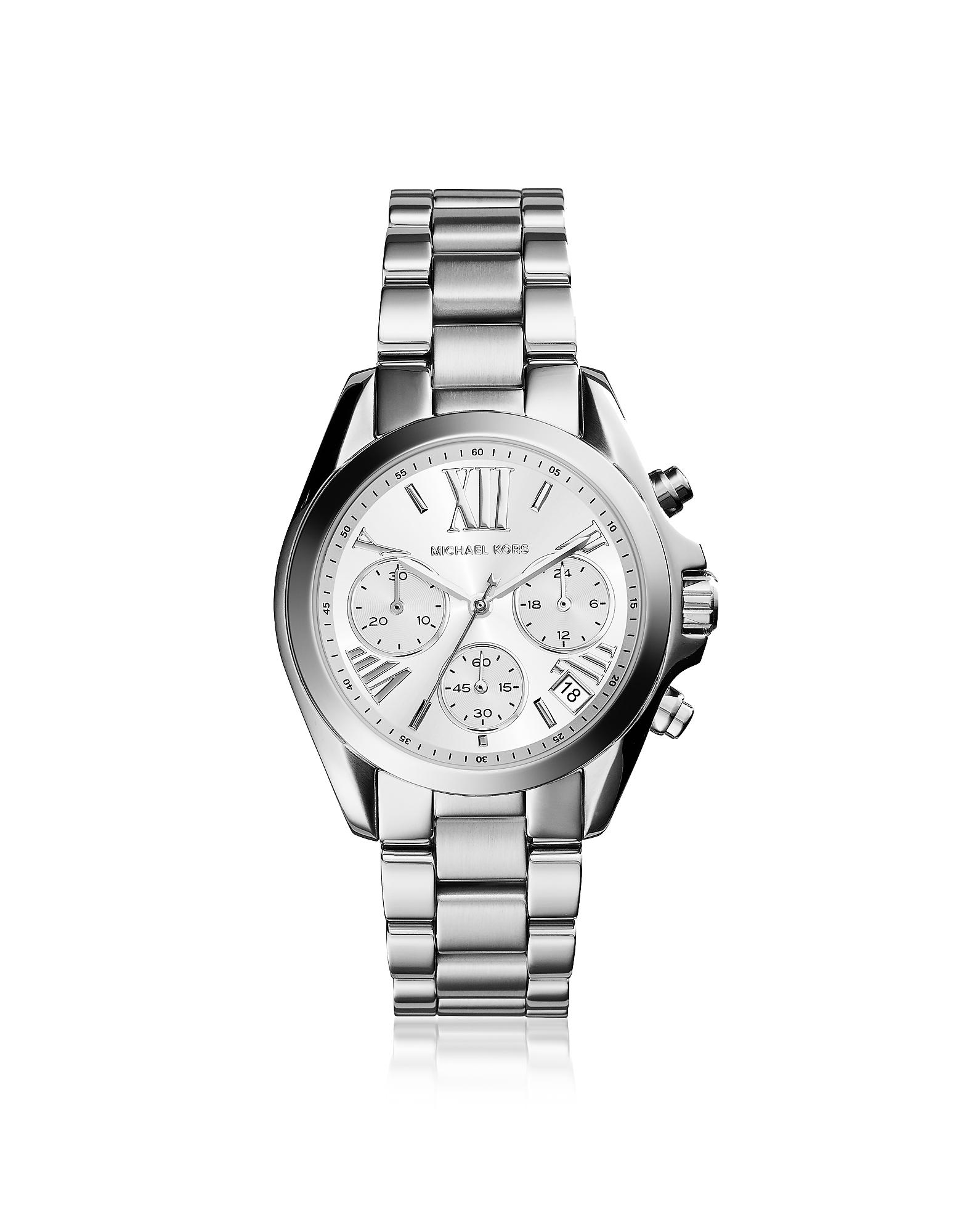Michael Kors Women's Watches, Mini Bradshaw Silver Tone Women's Watch