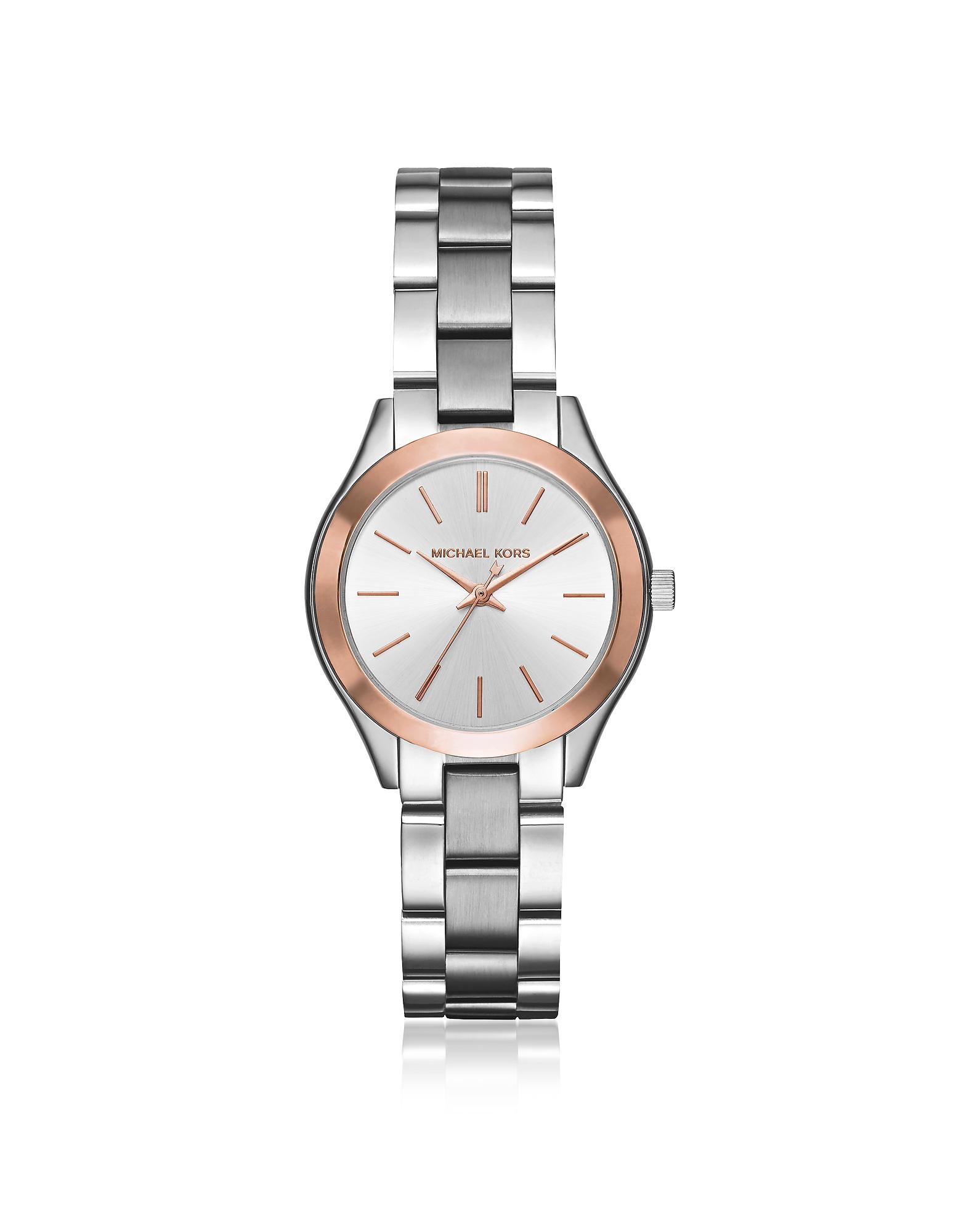 Michael Kors Women's Watches, Mini Slim Runway Two Tone Women's Watch