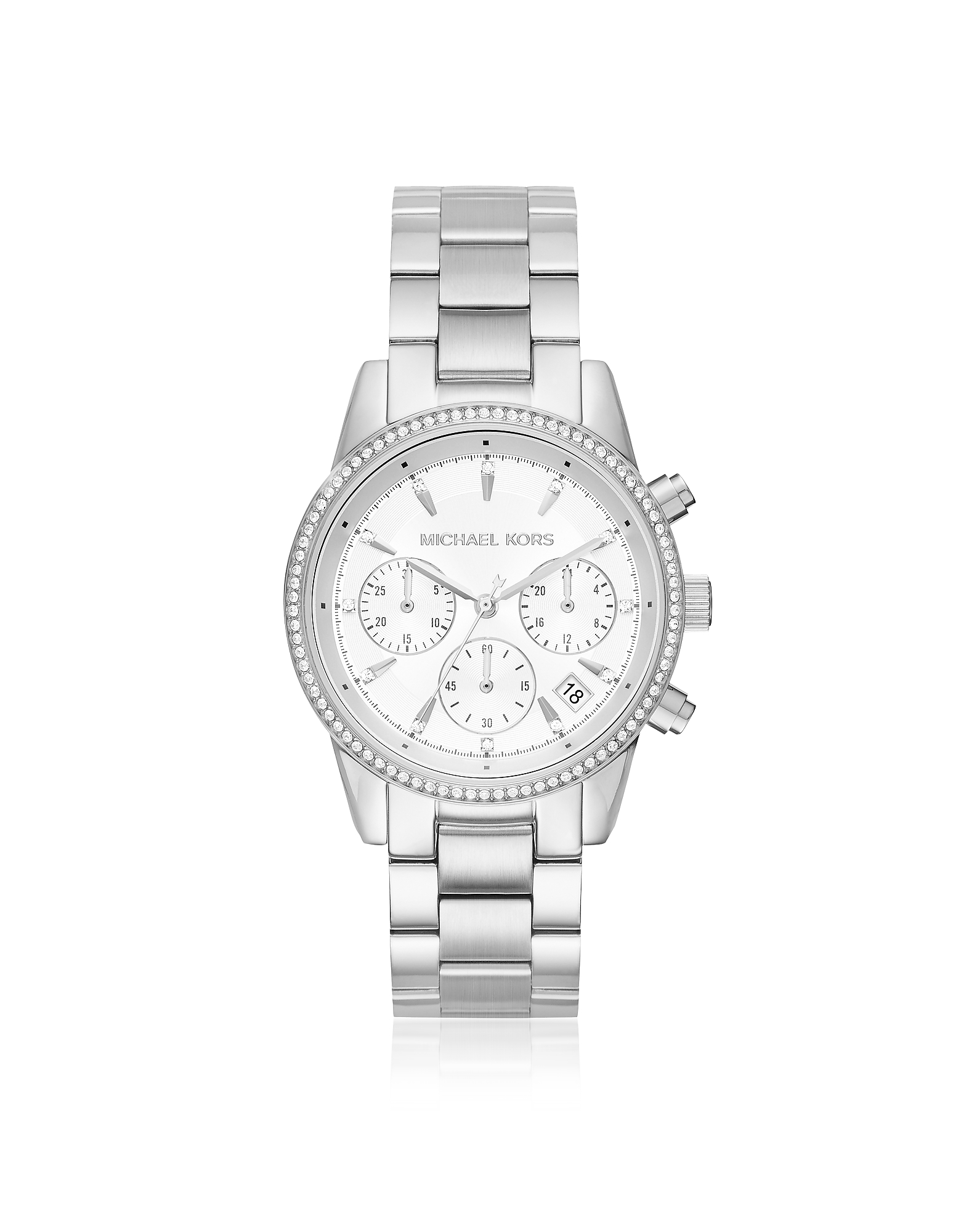 Ritz Silver Tone Women's Watch
