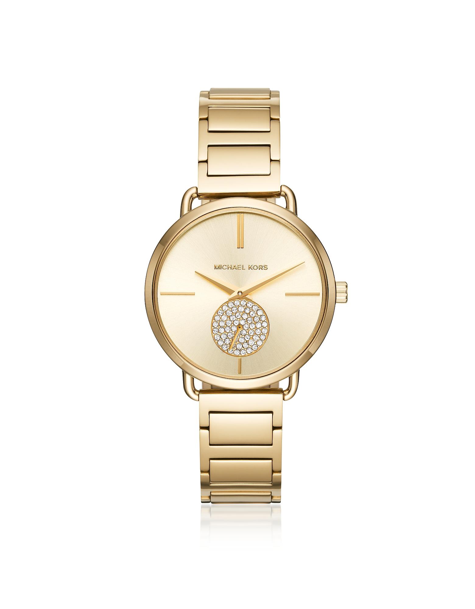 Michael Kors Women's Watches, Portia Gold Tone Women's Watch